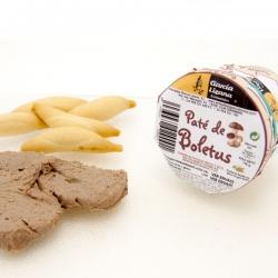 Paté de Boletus con queso
